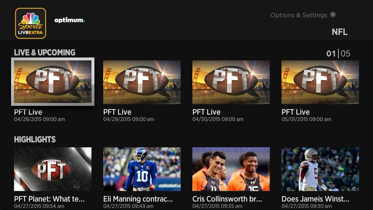 Nbc Sports Live Extra Now Available On Roku Platform Via Tv Everywhere Nbc Sports Pressboxnbc Sports Pressbox